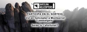 sorteo facebook barcelona helicopters