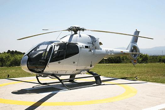 alquiler helicoptero barcelona