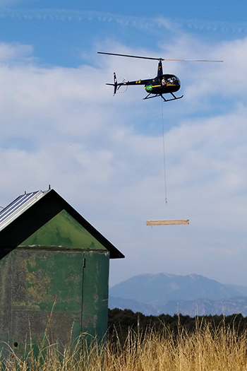 trabajos aereos helicoptero