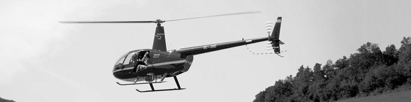 Fotografía aérea en helicóptero