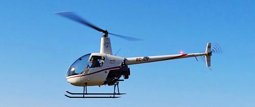 Helicóptero Robinson R22