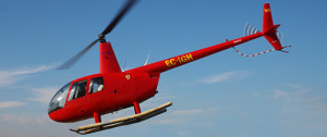 Helicóptero Robinson R44