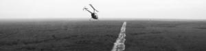 Inspección aérea en helicóptero