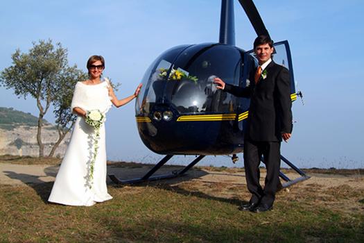 helicoptero bodas