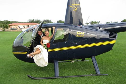 servicios bodas helicoptero