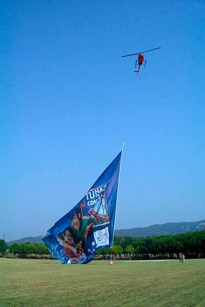 publicidad aerea helipistas